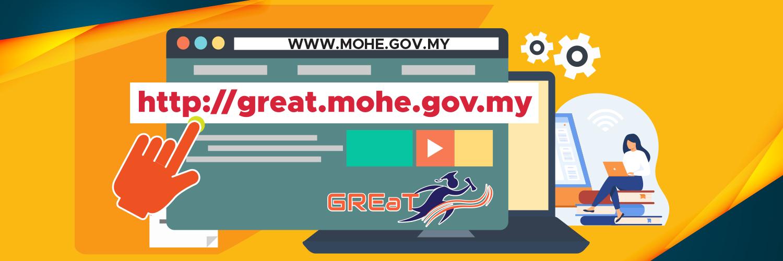 Portal GREaT - Hub Rujukan Graduan